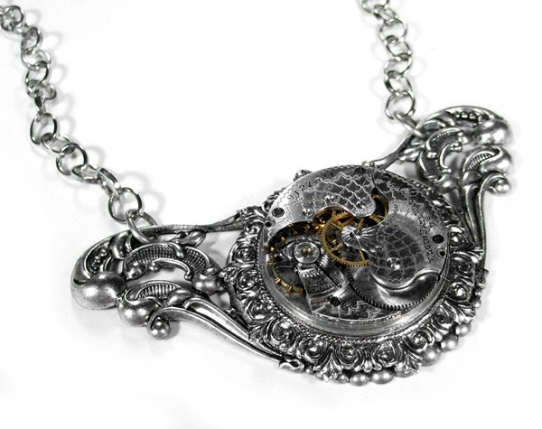 ricky wolbrom geek art steampunk jewelry