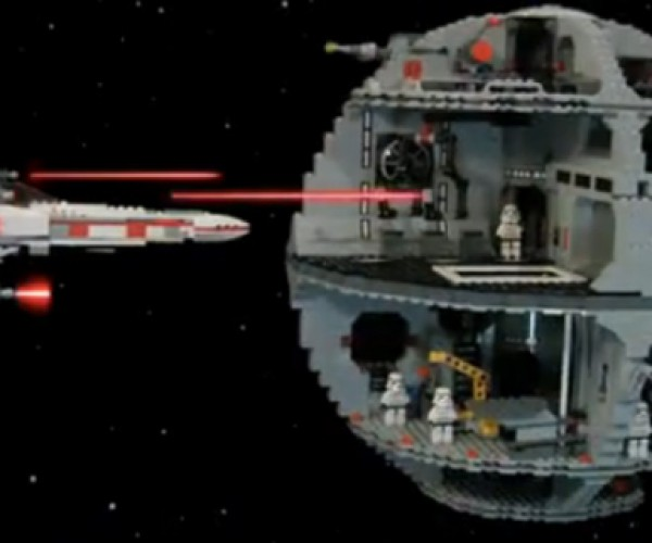 LEGO Stop-Motion Star Wars Recaps Episodes 4, 5, and 6 in 2:12