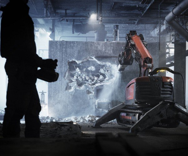 Husqvarna Demolition Robot: the Ultimate in Automated Destruction