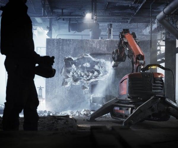 Husqvarna Demolition Robot: the Ultimate in Automated Destruction