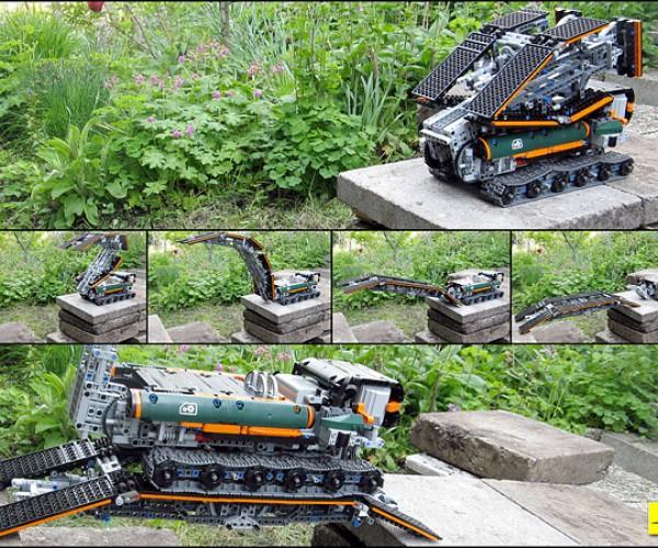 The 1-Minute LEGO Bridge Maker