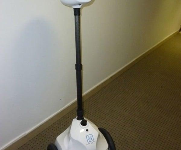 Anybots QB Robot Avatar: Not Quite as Advanced as James Cameron's