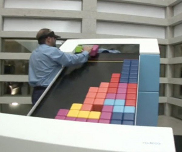 Analog Tetris: Add Some Brawn to Your Video Gaming Life