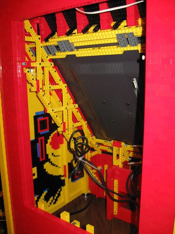 lego arcade pacman ben fleskes