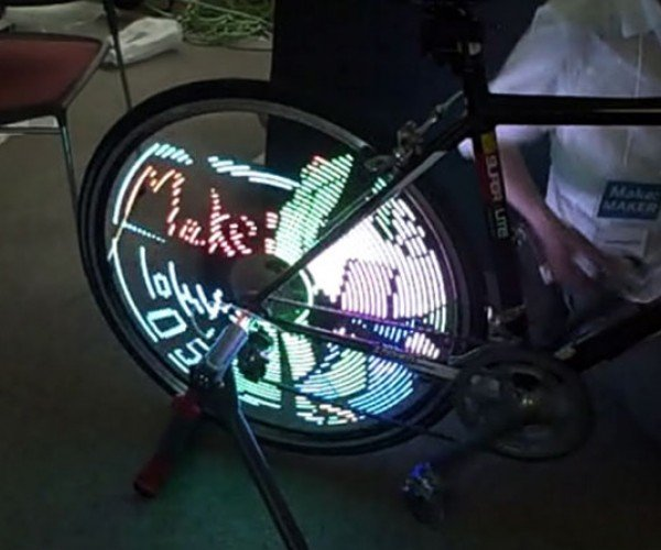 Anipov LED Spokes Hack Your Bike Into a Sort of TRON Light Cycle