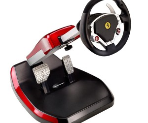 Ferrari Themed Racing Cockpit: Good Idea, but Not Perfect