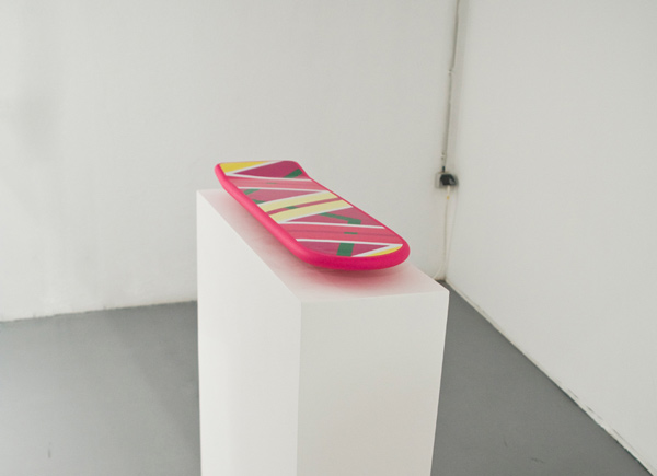 hoverboard back to the future marty mcfly art design levitation