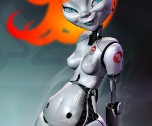 Great Cg Robots: Perfect for Desktop Wallpaper