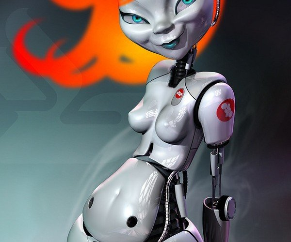 Great Cg Robots: Perfect for Desktop Wallpaper