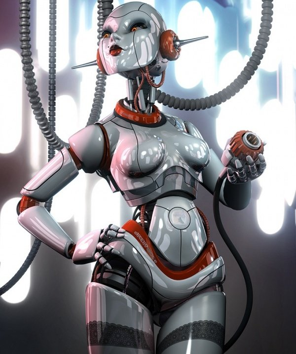 cg robot sexy sorayama machoarts