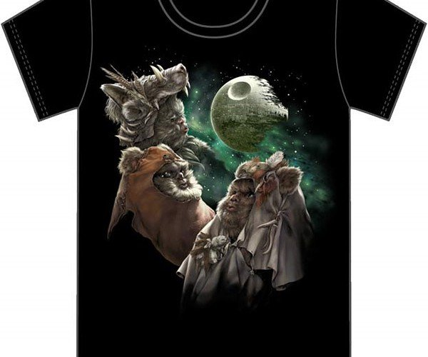 Three Ewok Moon T-Shirt