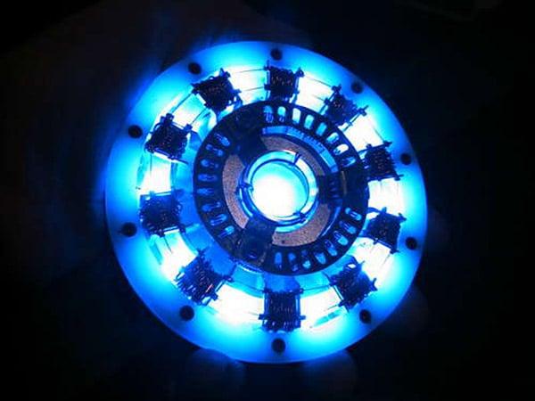 Make your own iron man arc reactor technabob diy iron man arc reactor 1 malvernweather Choice Image