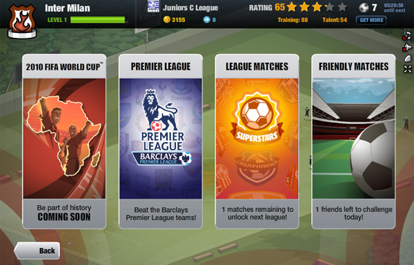 EA Sports Superstars on Facebook 5