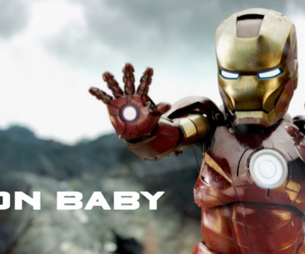 Iron Baby Blasts Enemies Before Nappy Time