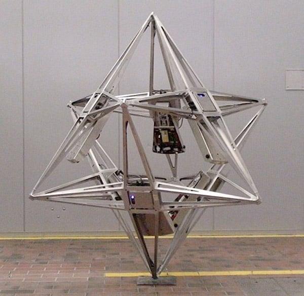 balancing cube robot