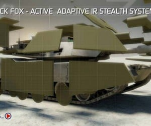 Black Fox Stealth System for Combat Vehicles: Invisible Tanks? Are You Kidding Me?