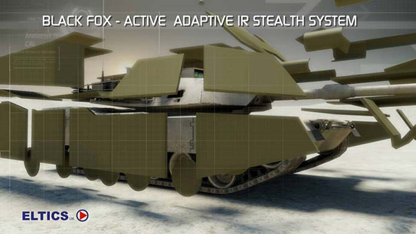 black fox stealth system