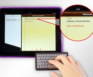 Brando Slim Bluetooth Keyboard Dares to Pair Itself With the iPad