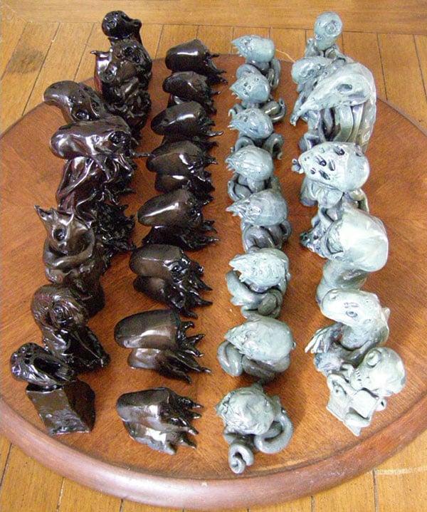 cthulhu mythos chess set