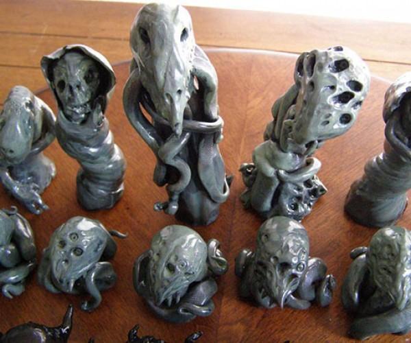 cthulhu mythos chess set 3