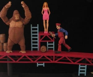 Custom Donkey Kong Action Figures: We Prefer Pixels