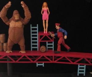 Custom Donkey Kong Action Figures: We Prefer Pixels
