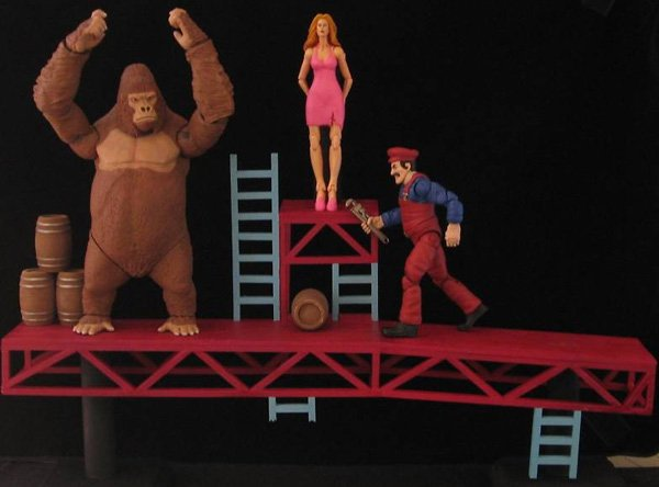 donkey kong action figures 1