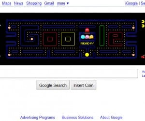 Google Pac-Man Now Permanent, Also Downloadable: Wakka Wakka All the Time