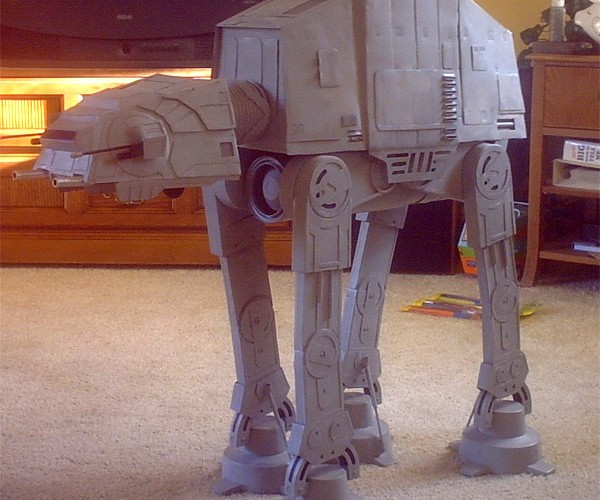 Handmade Steel at-at Model Ftw