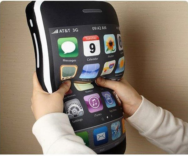 Icushion: Not as Small as the iPhone 4g, but a Whole Lot More Comfy
