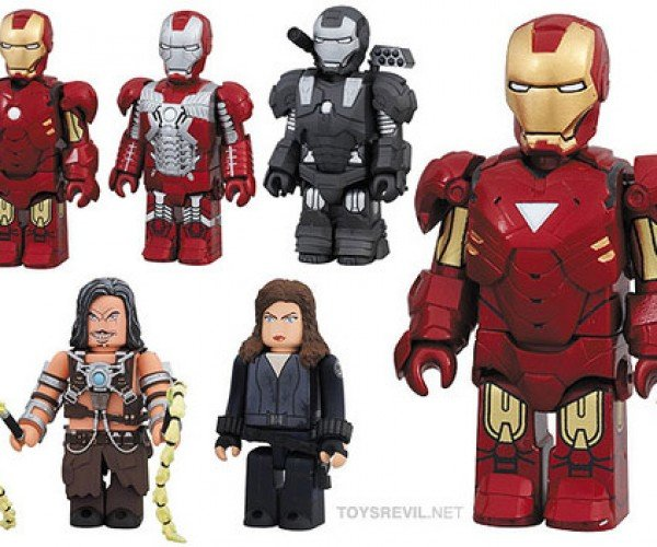 Iron Man 2 Kubricks: Happy Not Included