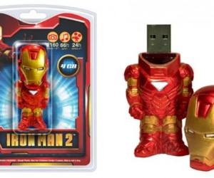 Iron Man Better be More Fun in Flash Drive Form Than the New Flick