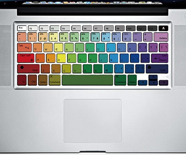 Macbook Keyboard Decals: for Touch Typing Tweens