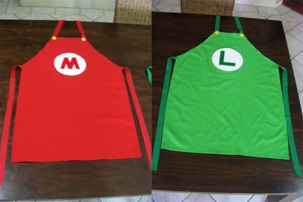 mario and luigi aprons 2