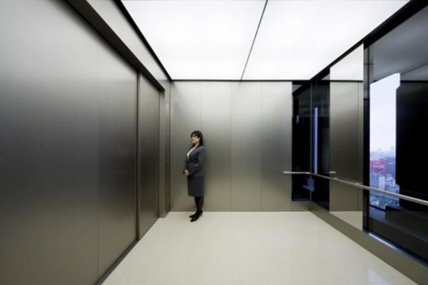 mitsubishi 80 person elevator