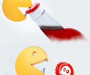 Pac-Man Bottle Opener has Serious Teeth
