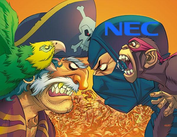 pirates vs NEC