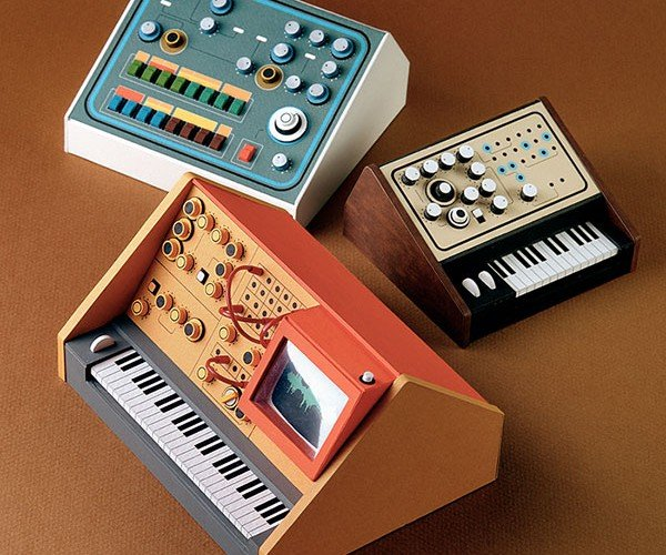 Pocket Synths: Paperkraftwerk