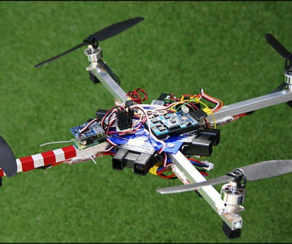 Sweet Arduimu Quadcopter is Smarter Than the Parrot Ardrone