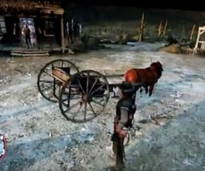 Red Dead Redemption Bug: Pimp My Wagon