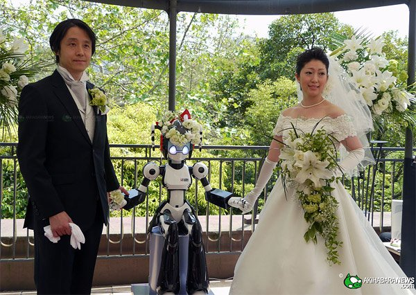 robot wedding japan ifairy 2