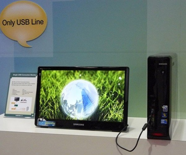 Samsung USB-Powered Monitor: It'S Not Exactly Portable Though