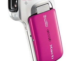 Sanyo Waterproof Camcorder Can Record Full HD Underwater