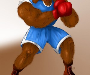 sesame street fighter rowlf 300x250