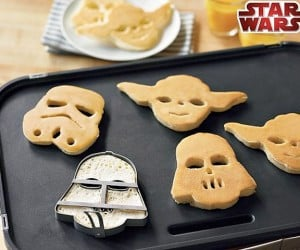 Star Wars Pancake Molds: May the Breakfast be With You