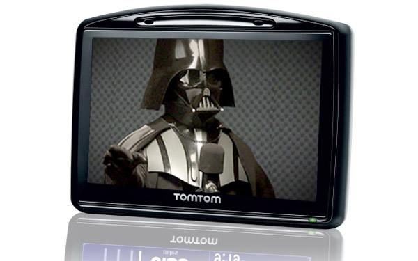 star wars tomtom gps