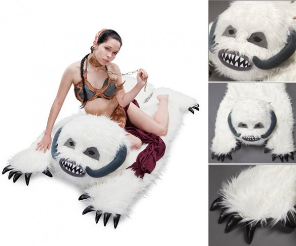 Star Wars Wampa Rug Bares Its Pointy Claws and Teeth