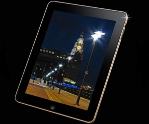 Stuart Hughes Gold iPad Supreme Edition: Flashy, but No Flash