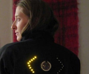Jacket With Turn Signals: Don'T Bike Without It