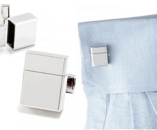 Flash Drive Cuff Links: Fashionably Nerdy